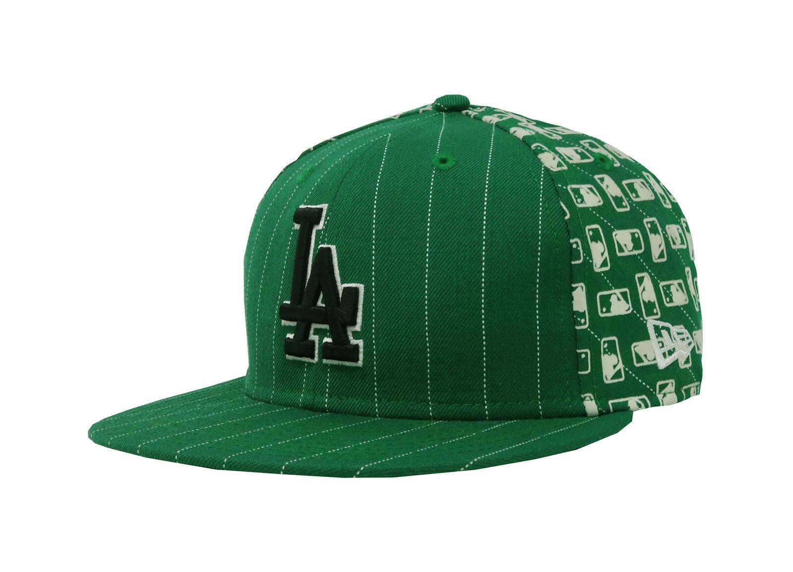 New Era 59Fifty Hat MLB Los Mens Angeles Dodgers Mens Los Womens Green Flock 5950 Cap 0a532b