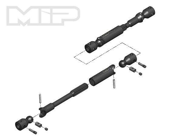 MIP MIP MIP HD Driveline Kit TRX-4 Defender   Tactical 12.8  WB MIP17110 a9fe02
