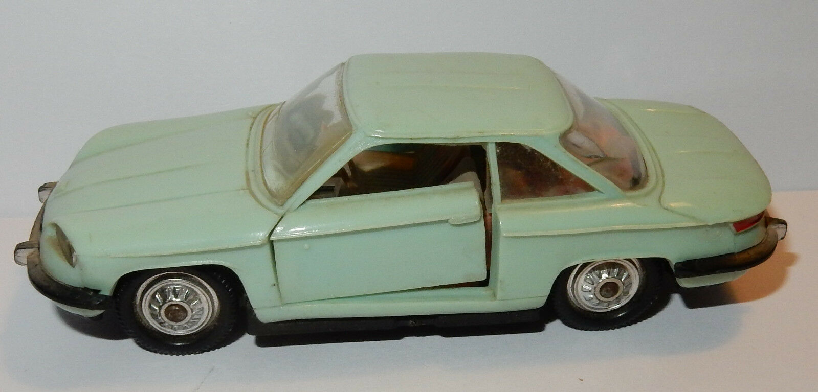 OLD NOREV MADE IN FRANCE 1966 PANHARD 24 CT 1963 1967 COUPE GREEN REF 72 b 1 43