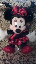 Disneyland Minnie Dressed as Ladybug Beanie with tag mint retired Vintage