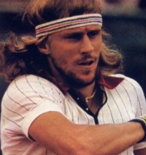 Tennis Verkleidung Wimbledon Retro Fila Bj Borg Headband-100 /% Authentic