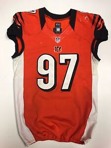 geno atkins game worn jersey