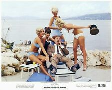 ARRIVEDERCI BABY Original 1966 SEXY BIKINI GIRLS Lobby Card LIONEL JEFFRIES