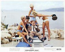 ARRIVEDERCI BABY Original 1966 SEXY BIKINI GIRLS Lobby Card LIONEL JEFFRIES