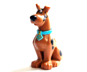 Lego-Great-Dane-75903-Scooby-Doo-Dog-Sitting-with-Chattering-Teeth-Minifigure