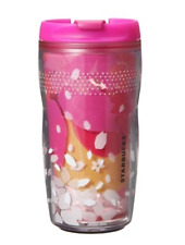 Starbucks Japan 2016 SAKURA Cherry Blossoms Tumbler Cheery 240ml 8oz Pink bottle