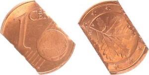 Lack Coinage 1 Cent 2006? Cancelled Through Zerschneiden 180° Stempeldrehung