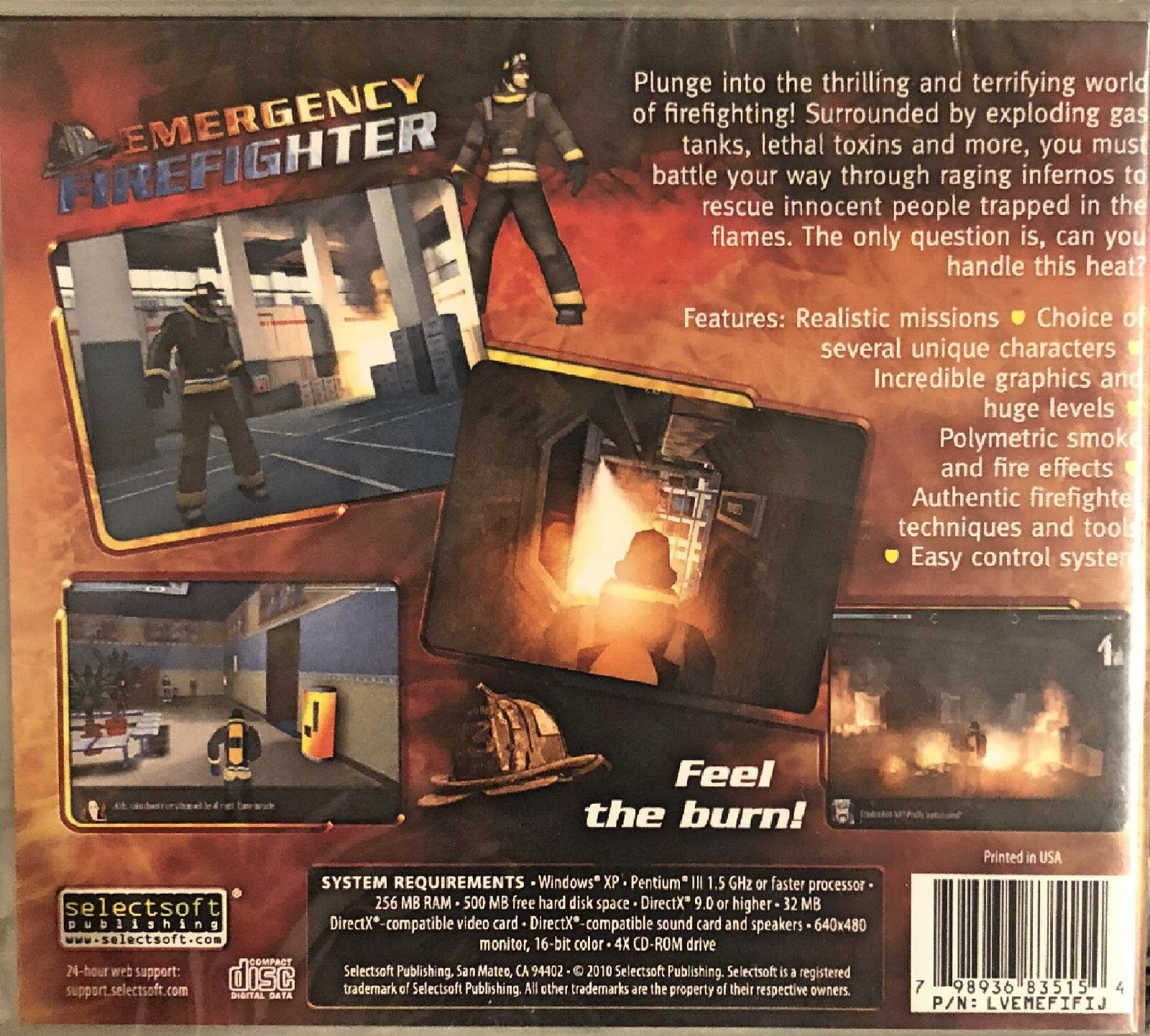 Emergency Fire Fighter (PC)