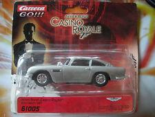 Carrera GO James Bond 007 Auto Aston Martin DB5 Slotcar 1:43 Neu OVP Sammler