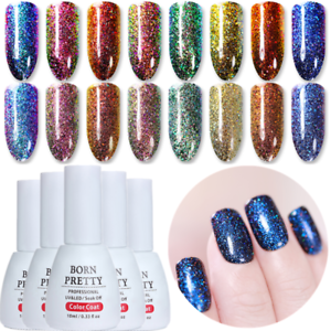 10ml-Peacock-Chamaeleon-Holographische-Soak-Off-UV-Gellack-Nagellack-Born-Pretty