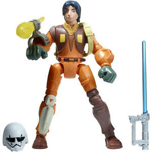 Star Wars Hero Mashers Rebelles Ezra Bridger Deluxe Figure Ezra