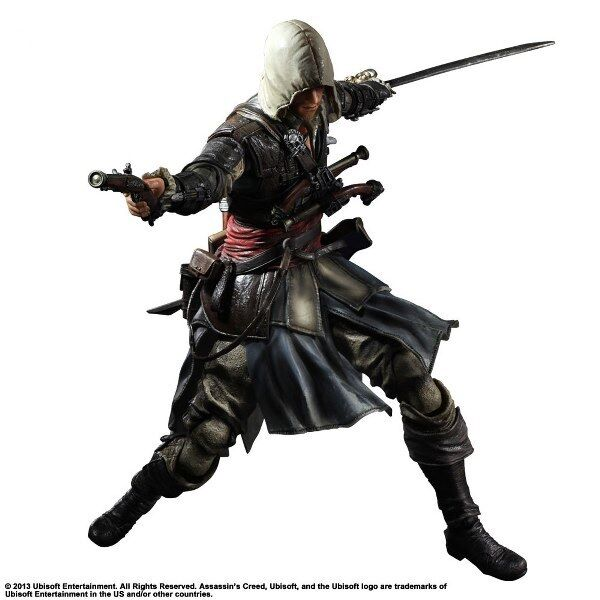 Edward Kenway - ASSASSIN'S CREED Action Figura Play Arts Kai - Square Enix