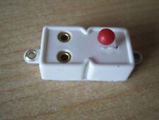 Schalter für Lampen von Puppenstuben Krippen Beleuchtung weiss//weis rund 2 Stück