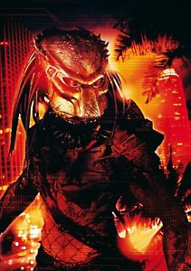 PREDATOR-2-Movie-PHOTO-Print-POSTER-Textless-Film-Art-Arnold-Schwarzenegger-001