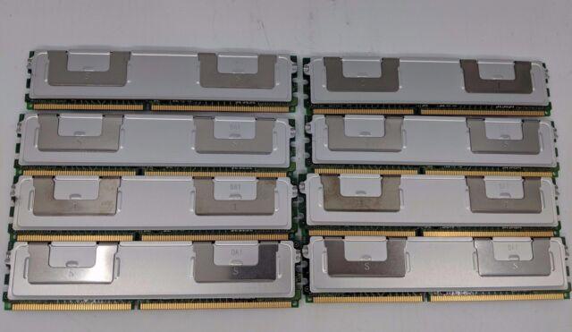 LOT OF 8 16GB 2GB 2RX8 SAMSUNG M395T5663QZ4-CE66 PC2-5300F