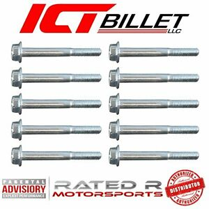 ICT Billet LSA LS9 Supercharger to Cylinder Head Bolt Kit Hold Down Rotor Housing Manifold 551937