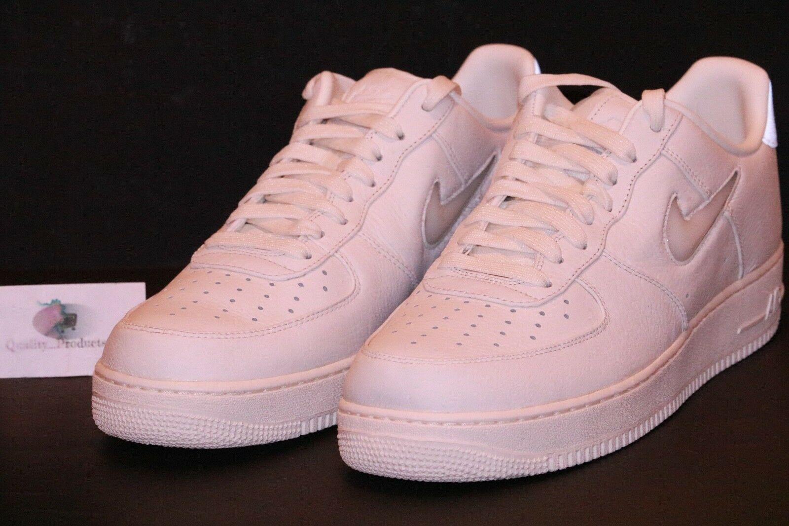 Nike NikeLab Air Force 1 Low Retro Retro Retro Premium Sail Sail White 941912 100 Size 13 eb52a9
