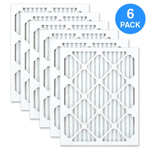 Made in the USA AIRx ODOR 16x25x1 MERV 8 Carbon Pleated Air Filter Box of 6 ODOR-162501-6