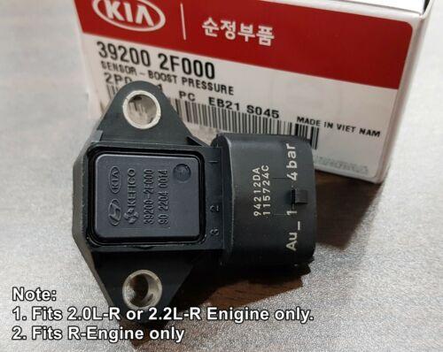 XL Maxcruz #392002F000 OEM Boost Pressure Sensor Hyundai Tucson ix35 Santa Fe