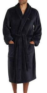 NWT Men s Black TOMMY BAHAMA Plush Robe With Pockets Size S M  f0907bee7