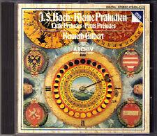 BACH Kleine Präludien Little Prelude KENNETH GILBERT CD Harpsichord Cembalo