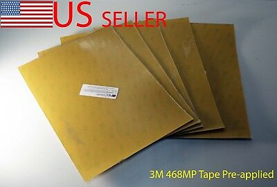 0.3//0.5//0.8//1.0mm PEI Sheet Build Surface w// 468MP Adhesive Tape for 3D Printer
