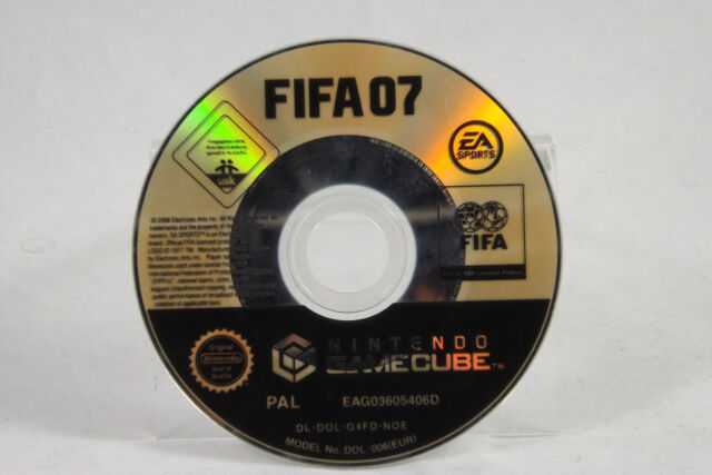 FIFA 07 (Nintendo GameCube) Spiel o. OVP, PAL, gebraucht