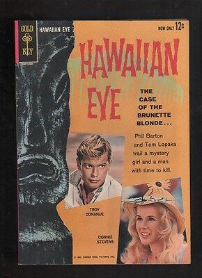 """1963 TV's  """" HAWAIIAN EYE """" GOLD KEY COMIC BOOK VERY HI-GRADE ORIGINAL RARE"""