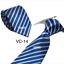 Classic-Red-Black-Blue-Mens-Tie-Paisley-Stripe-Silk-Necktie-Set-Wedding-Jacquard thumbnail 24
