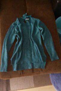 Damen-Pullover-Strickpullover-gr-M-neuwertig