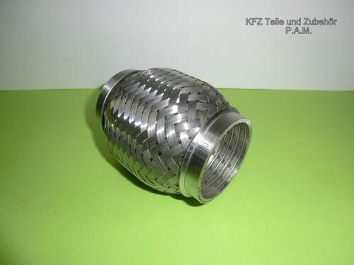 Auspuff Flexstück 60 mm Ø x 115 mm Hosenrohr  universal zuschneidbar