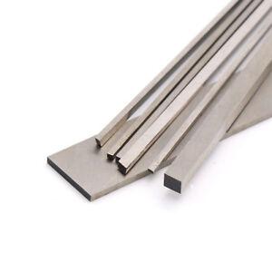 2x4mm To 5x20mm HSS Steel Flat Bar Strip 200mm Long Lathe Milling Mold Making