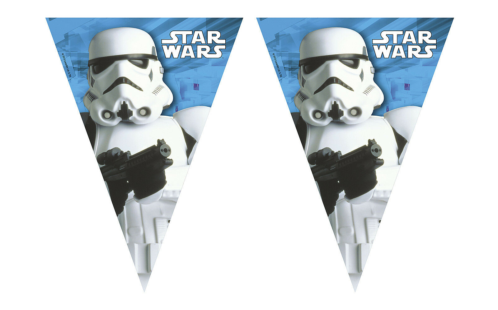 Unique Party 71981-2.3m Star Wars Bunting Banner