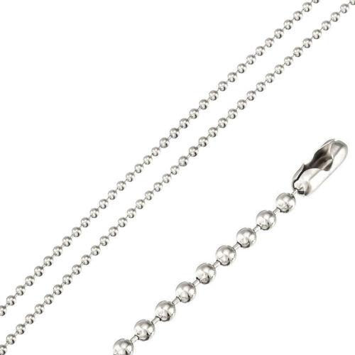Stainless Steel 2 Tone Leaf Design Cross Pendant Free Bead Ball Chain