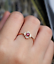1-6ct-Round-Cut-Red-Garnet-Engagement-Ring-14k-Rose-Gold-Finish-Floral-Solitaire thumbnail 2