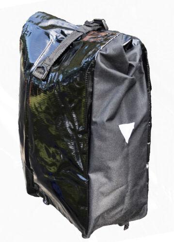 Filmer 46.374 bolso bicicleta World Tramp-bolsa con correas para los hombros-negro