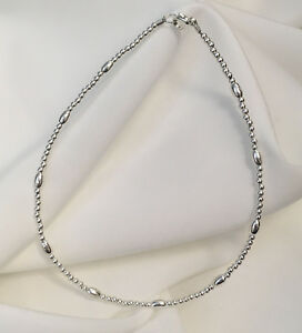 New-Sterling-Silver-Bracelet-or-Ankle-Bracelet-2804-Plus-Sizes-too