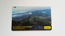 MALAYSIA PHONE CARD KINABALU NATIONAL PARK MINT CONDITION UNIPHONE