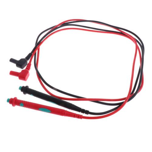 Multimeter Prüfleitung Messleitung Prüfspitzen Kabel set von 12 stück