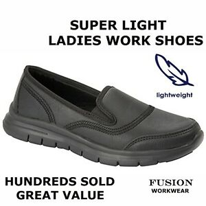 LADIES-WORK-SHOES-NURSES-SUPER-LIGHT-amp-COMFORT-NHS-HOTEL-WAITRESS-BAR-UNIFORM