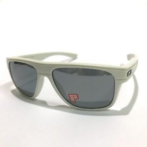 Oakley Sunglasses * Breadbox 9199-27 Matte Cloud Black Iridium Polarized