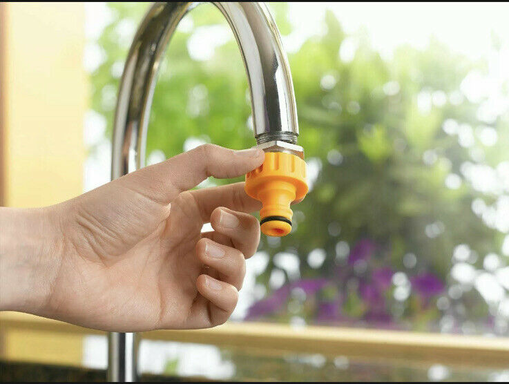 Hozelock 2304 Indoor Threaded Kitchen Tap Hose Pipe Connector Fitting Watering