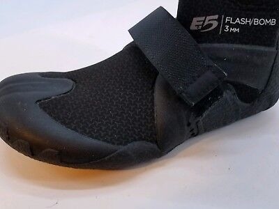 Amputee Left Foot Rip Curl Flashbomb 5mm Hid S/toe Boots Fins, Footwear & Gloves Black/black Sizes 5 N