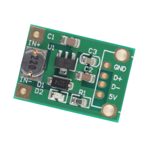10PCS DC-DC Boost Converter Step Up Module 1-5V to 5V 500mA 600mA Max forArduino