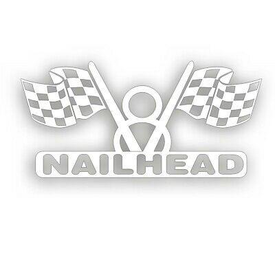 V8 401 NAILHEAD engine decal for Buick hot rod race classic or muscle car