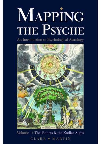 MAPPATURA The PSICHE Volume 1: The Pianeti e the zodiac segni di Martin, CLARE