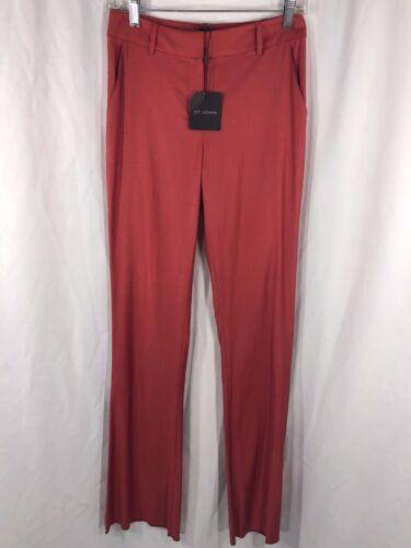 John 495 Cinnabar Pants 2 Orig Womens Nwt Red St PpTawRxqp