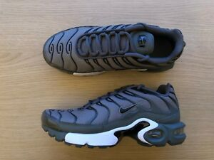 Conception innovante 059a4 c8d4a Details about NIKE AIR MAX PLUS TN GS - UK SIZE 6 - GREEN/GREEN/WHITE  (655020-056)