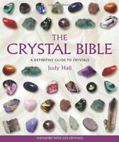 The Crystal Bible By Judy Hall, (paperback), Walking Stick Press , New, Free Shi on sale