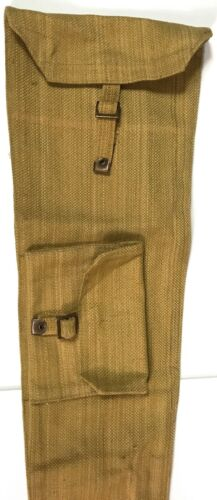 WWII BRITISH ENFIELD RIFLE P37 SMLE Lee-E CANVAS CARRY CASE